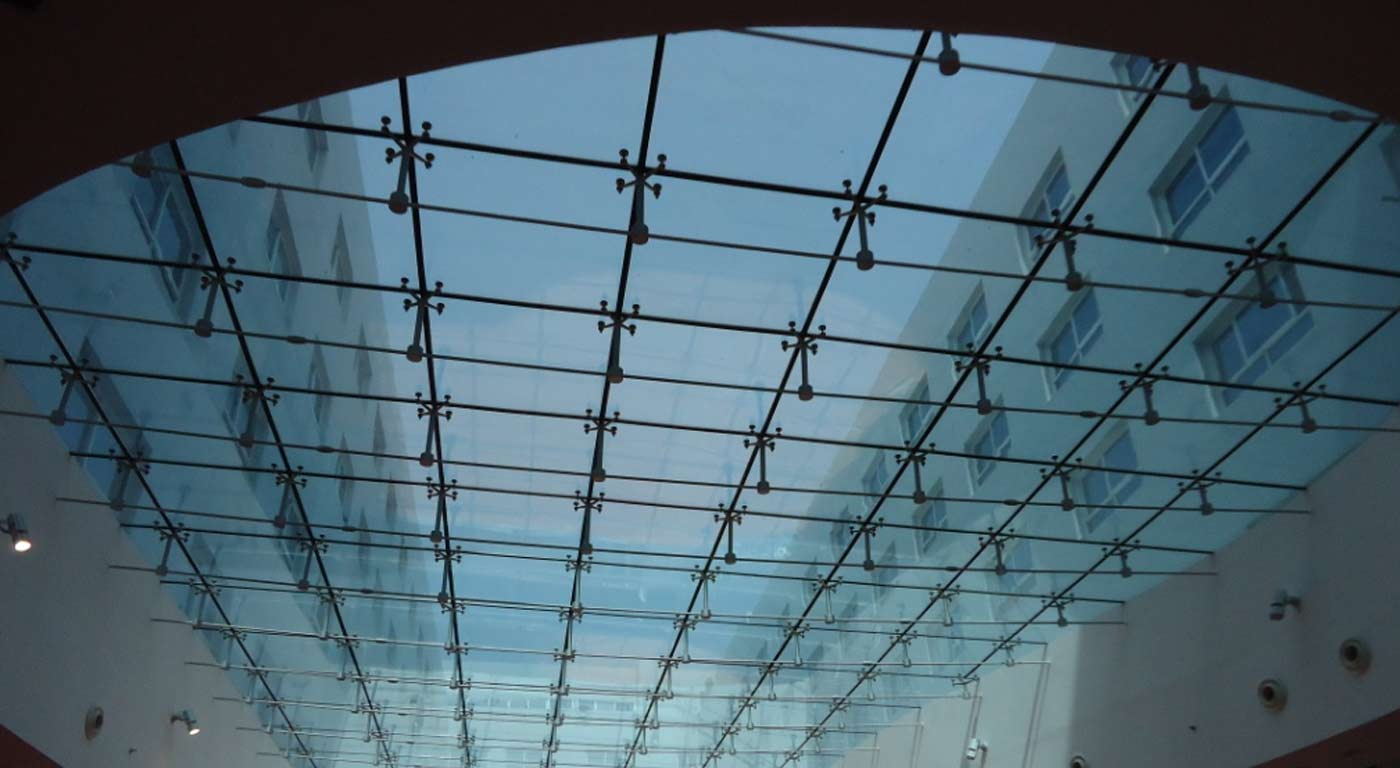 Spider Glass Wall : Spider system hongjia architectural glass manufacturer