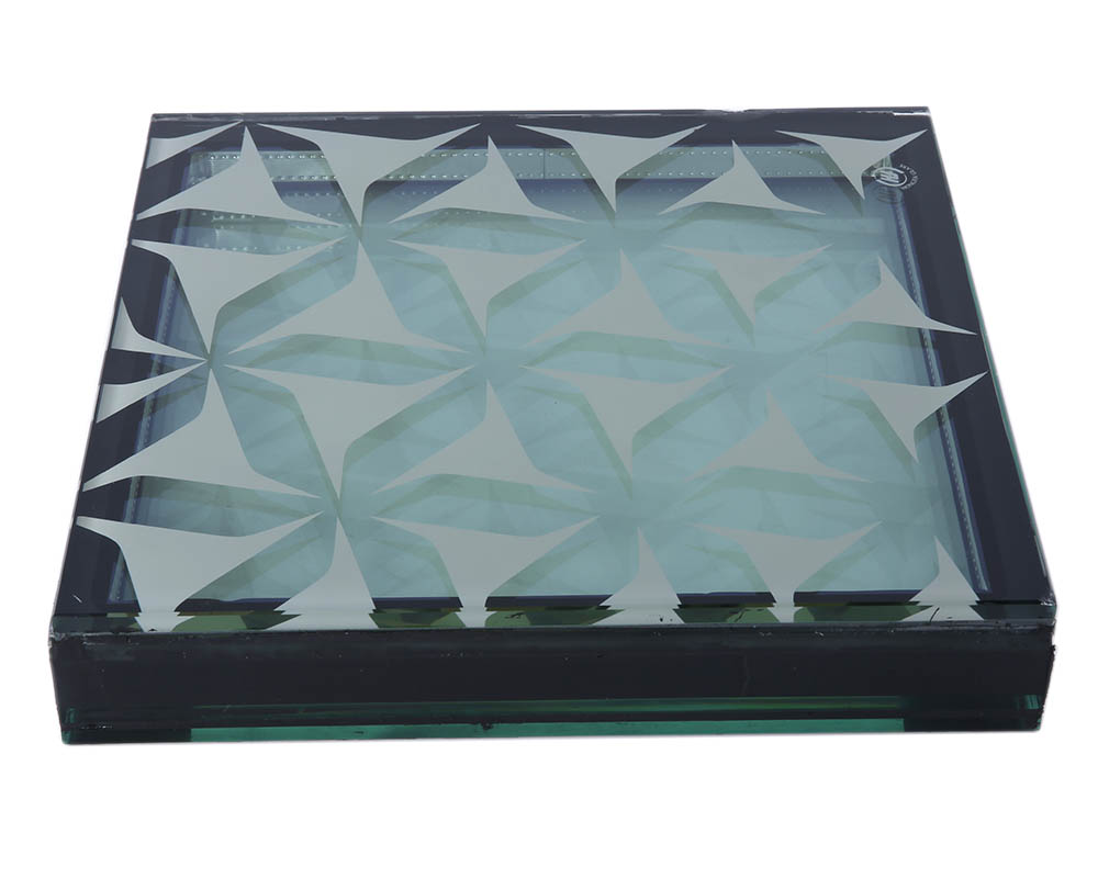 High Temperature Silk Screen Glass Architectural Glass