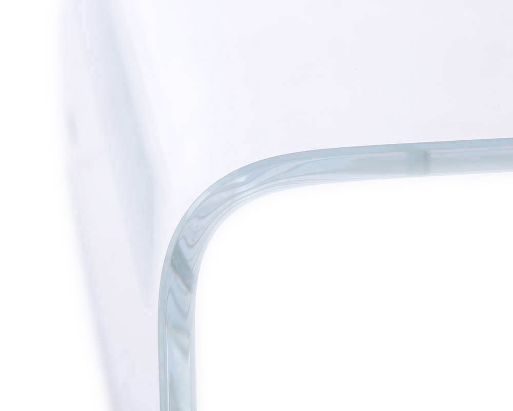 small radius curved glass