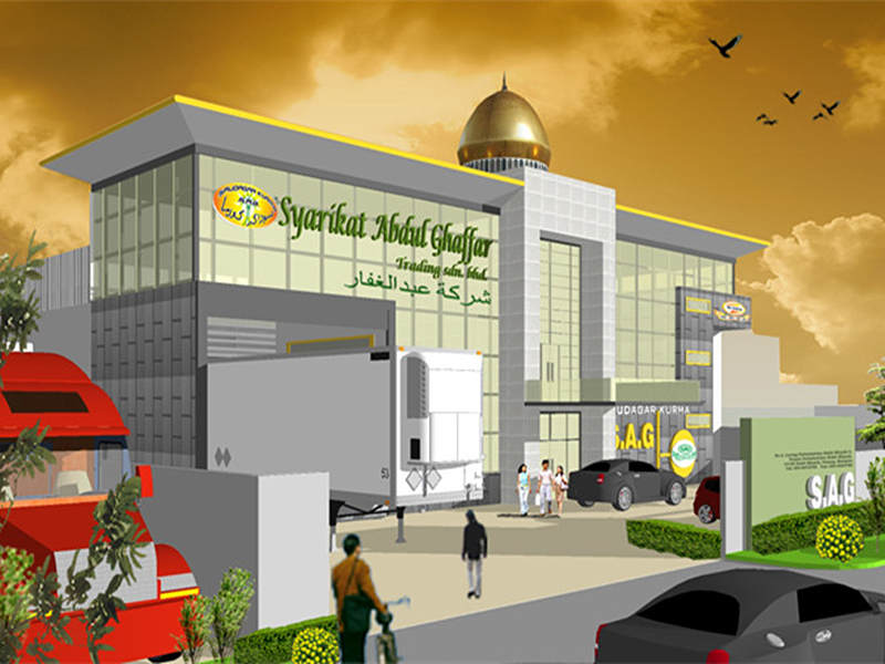 office building of syarikat abdul ghaffar 1