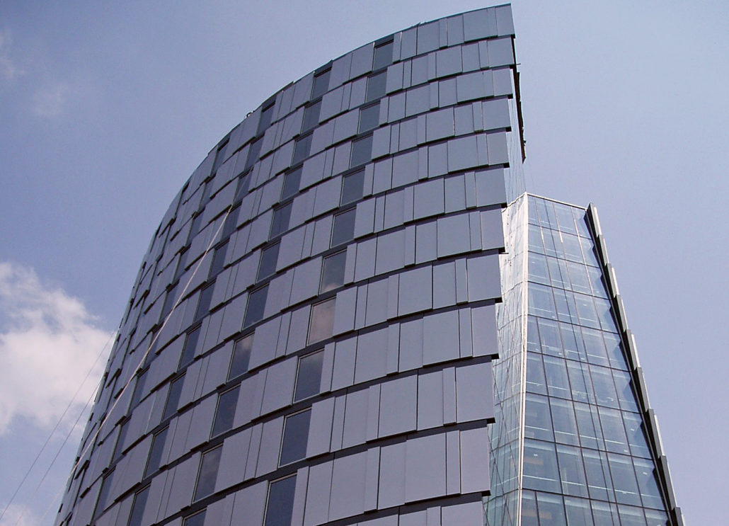 Curtain Wall System Hongjia Architectural Glass Manufacturer