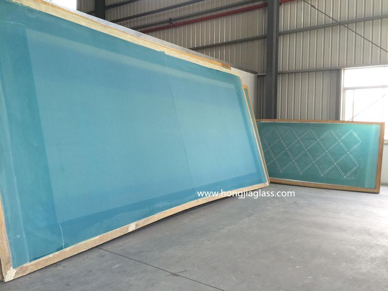 tempered ceramic frit glass 4