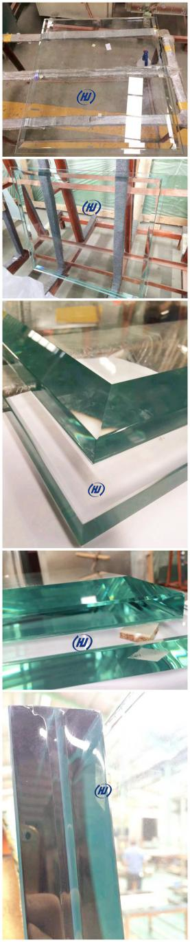 four sides stepped glass