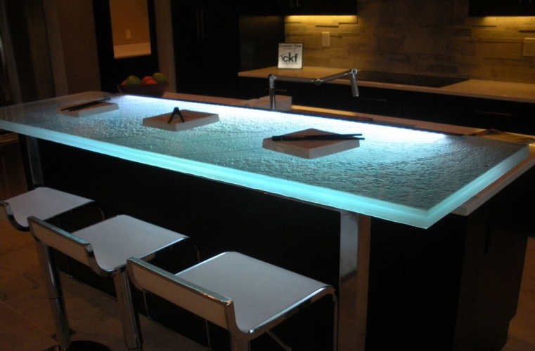 Perfect Glass Countertop