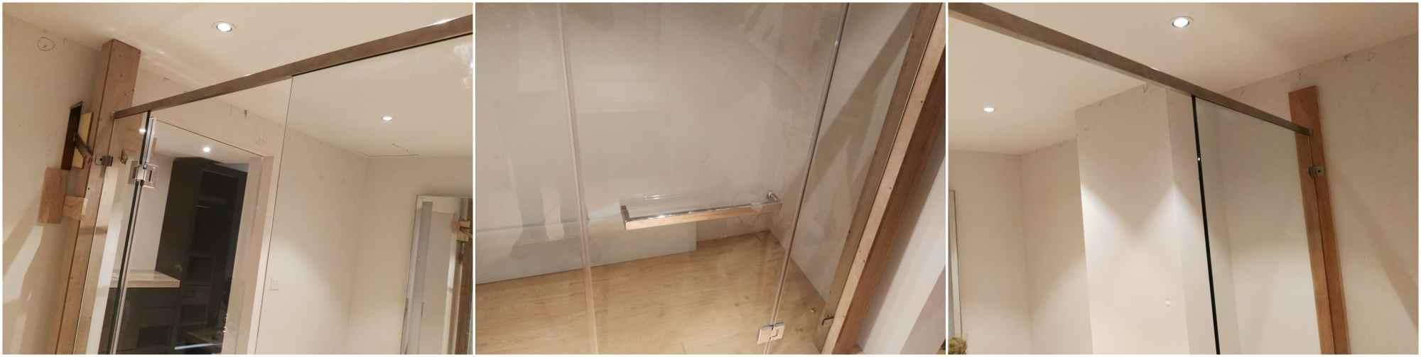 glass door 12