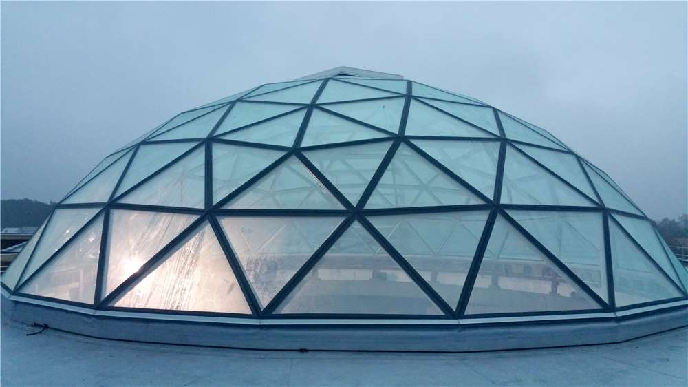 Roof Glass Dome Hongjia Architectural Glass Manufacturer