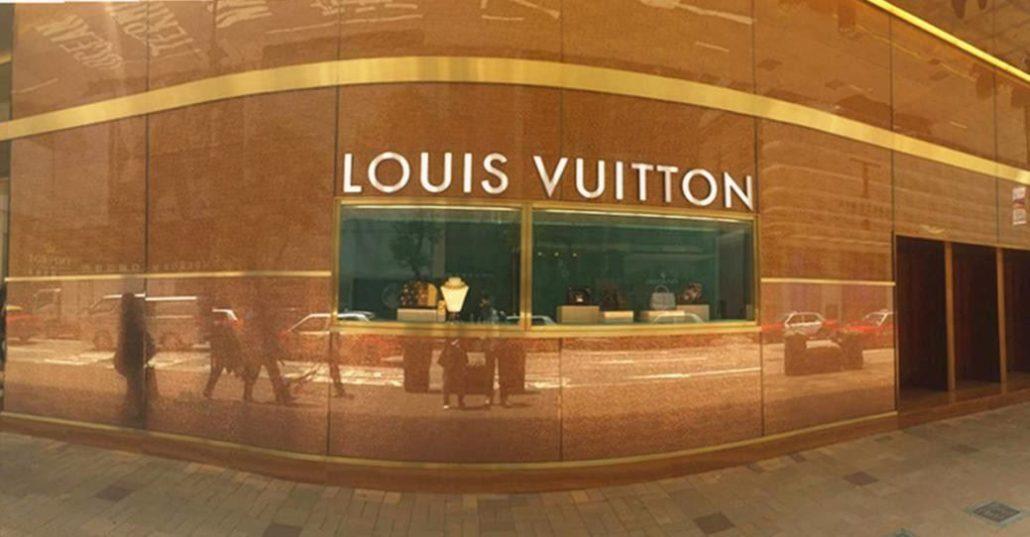 Louis Vuitton Hong Kong   Hongjia Architectural Glass Project 964e8bfb5c8